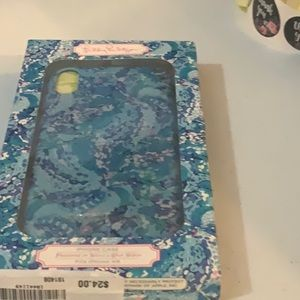 NWT Lilly Pulitzer phone case